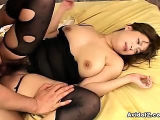 monami sakura massive big tits in hot screwing action