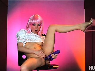 horny petite babe ashley jane masturbating with a dildo