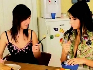 lesbians on the kitchen table