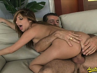 horny wet pussy swallows cock and goes wild