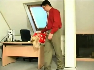 russian milf get seduced by her young boss