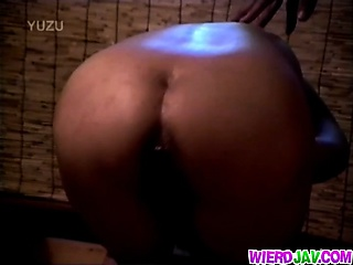hottest asian anal insertion action