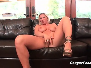 awesome blonde cougar milf slut with amazing big tits and