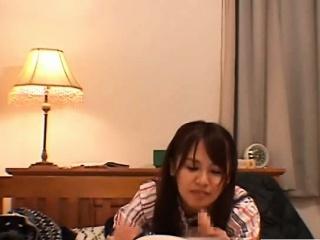 subtitled cfnm japanese woman white boyfriend blowjob
