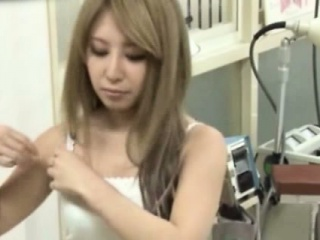 japanese amateur on spycam watched by her doctor