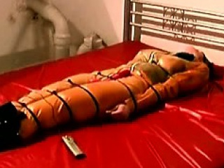 horny beauties get immobilized in this filthy bdsm scene