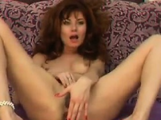 russian milf masturbating with her toys