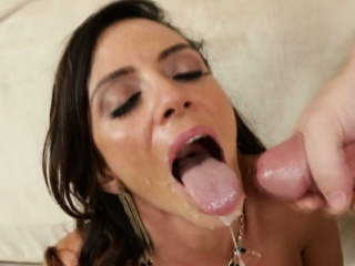 ariella ferrera loves young dudes jizz all over her face