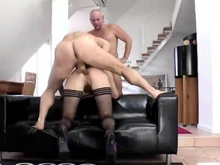 anal sex for mature british lady in threesome