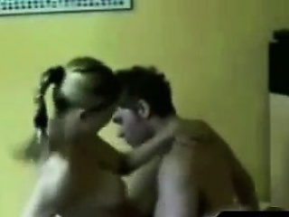riding young couple great orgasm
