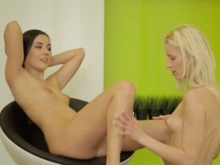 two sexy teen girls uma and iwia intimate lesbian sex