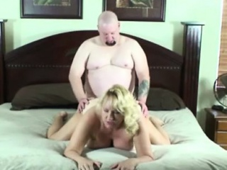 sexy blonde amateur pounded in her peachy cunt and creampied