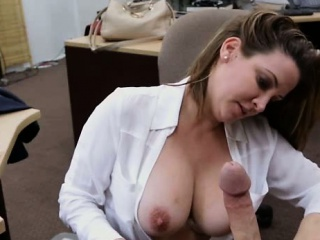 foxy business lady got her pussy drilled for plane ticket