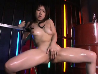 sweet solo with hot japanese model