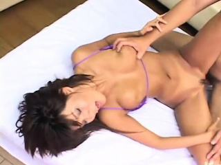 mature with big tits enjoys harsh porn