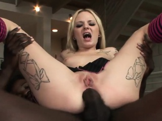 emo faye runaway anal fucked by black cock