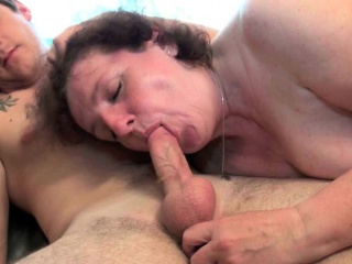 granny's old pussy welcomes your hard cock