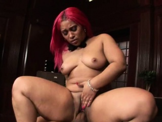 dirty black slut with great big ass riding on dick