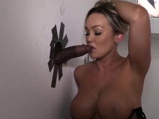 abbey brooks cheats on her bf with a black stranger