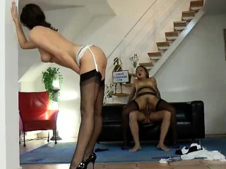 mature british lady in stockings going pussy to mouth