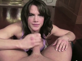 step mom caught german step son and helps with blowjob