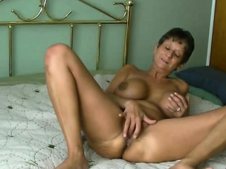 hot granny with an amazing body having sex