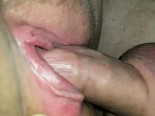 mature woman fucking on this homemade closeup video