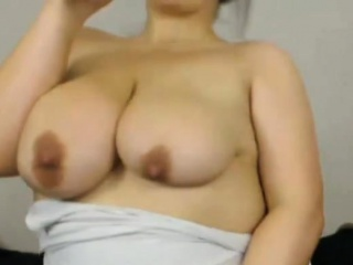 sexy chubby charlotte with huge natural boobs