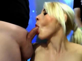 fetish skank gulps sperm