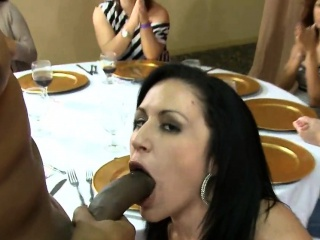 hot angels sucks cock and gets cum all over her face