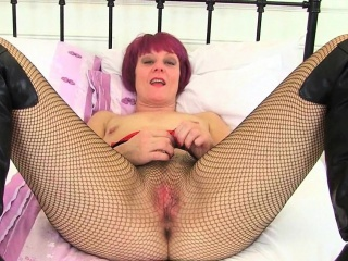 my favourite british milfs in fishnet pantyhose