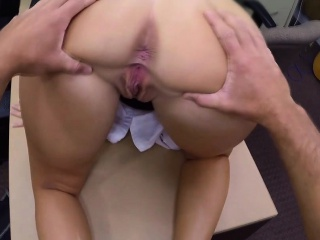 two hot lesbians suck one cock for cash