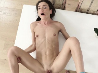 nataly gold got bent over for doggystyle fuck in her pussy
