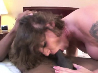 kayla quinn blowjob and fucks a black cock