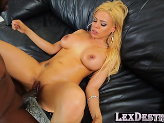 horny and a latina luna star gets destroyed by lexington