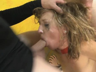 skinny blonde skye avery slapping and rough face fucking