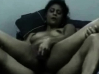 mature arab woman takes it hard in a homemade video