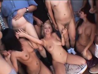 extreme bukkke orgy with hot girls