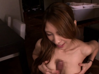 drilled japanese model facialized