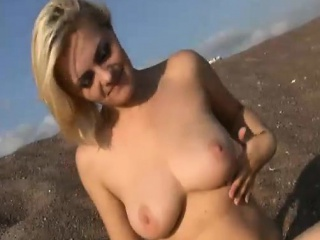 dominice is a sexy spunky blonde with huge beautiful