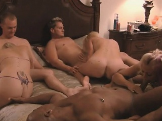 swingers talk about their sexual experiences on this orgy
