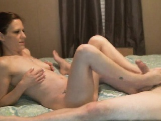 horny girl suck and ride a hard cock
