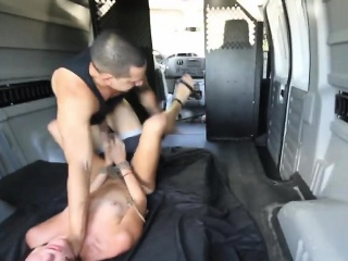 cute little brunette bitchy brutal truck sex with hunk