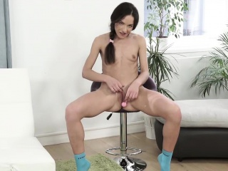 nataly gold loves her anal gets filled by a big cock