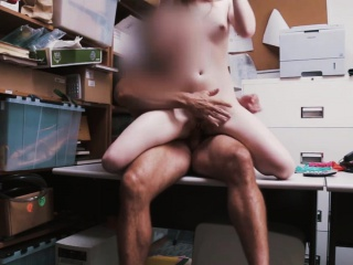 college babe dolly leigh fucks by an officer