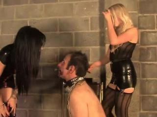 unrelenting femdoms punish submissive harshly