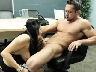 big tits stocking wearing boss officeroom fuck audrey bitoni