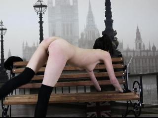 flexible ariella shows incredible nude gymnastics