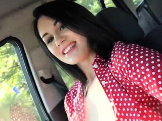 amateur teen hitchhikes and banged hard in public place