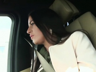 beautiful hitchiker eveline dellai gets banged by a stranger